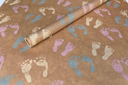 Hello Baby Footprint 4m Roll