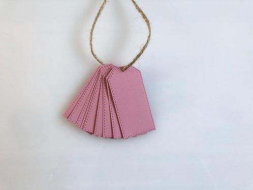TRADE Light pink gift tags - pk of 10pk