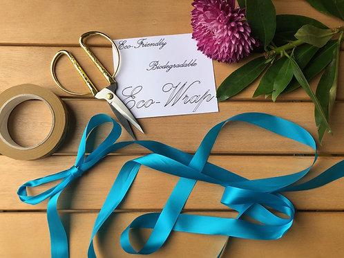TRADE Turquoise Ribbon 10m
