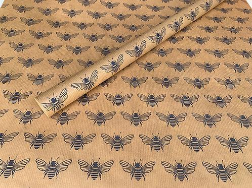 Bee Print 4m Roll