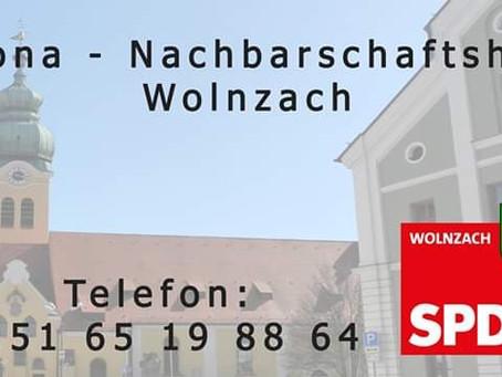 Corona-Nachbarschaftshilfe der SPD Wolnzach