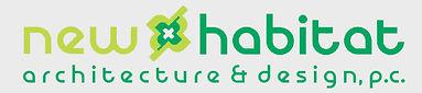 New Habitat architecture and design logo