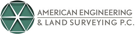 Logo American Engineering and Land Surveying, Plainview, New York