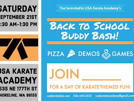Bring your friends! Buddy Bash is coming fast!