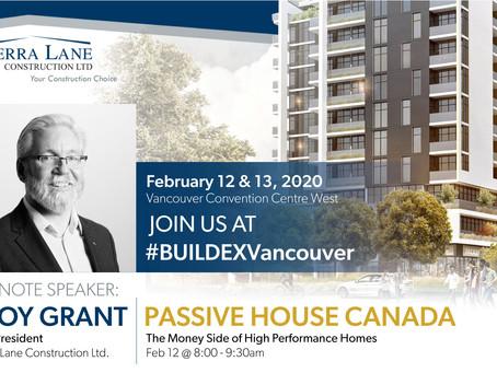 BUILDEX Vancouver - SL Guest Speaker Troy Grant