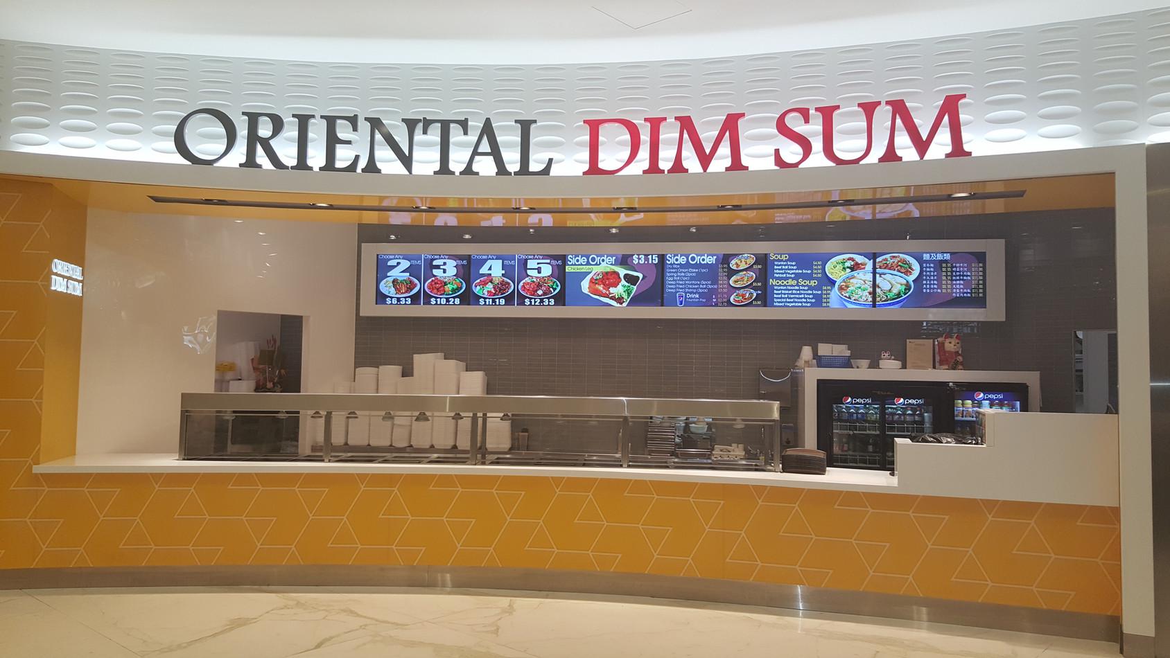 Oriental Dim Sum @ WEM - Edmonton, AB