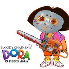 Dora Is Pissed Again