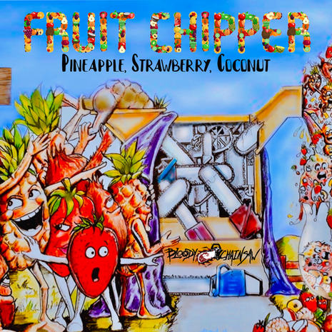 Fruit Chipper - Pineapple, Strawberry, Coconut