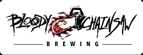 Bloody Chainsaw Sticker