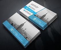 Cartão de visita impressão colorida frente verso