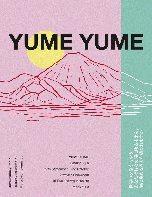 YUME YUME Invite Paris