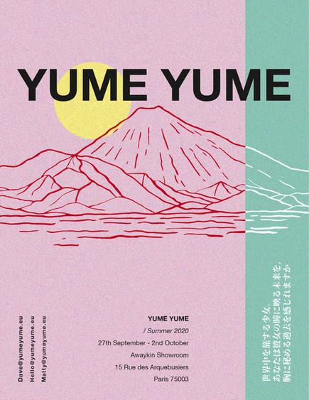 YUME YUME - Invite Paris