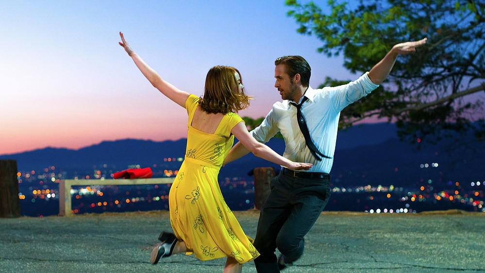 La La Land film Emma Stone and Ryan Gosling