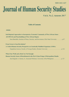 Journal of Human Security Studies Vol.6, No.2. Autumn 2017.