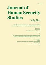 Journal of Human Security Studies, Vol.9, No.1