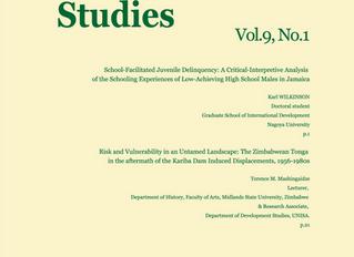 Journal of Human Security Studies, Vol.9, No.1 Spring 2019
