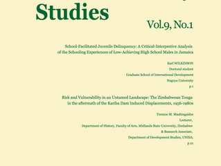Journal of Human Security Studies, Vol.9, No.1