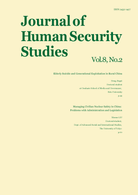 Journal of Human Security Studies, Vol.8, No.2 Autumn 2019