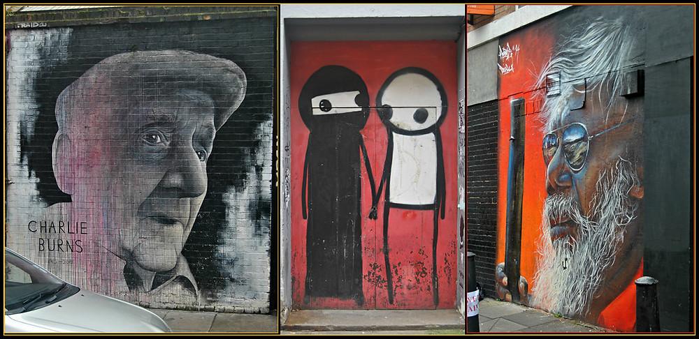 Charlie Burns Stickman Street Art Graffiti London