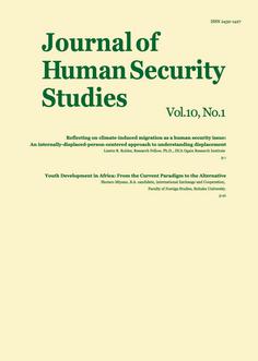 Journal of Human Security Studies, Vol.10, No.1 2021