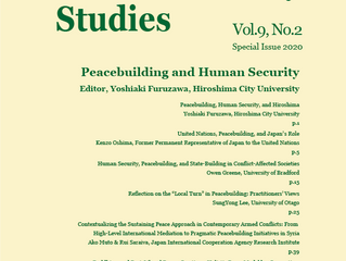 Journal of Human Security Studies. Vol.9, No.2 (Special Issue 2020)