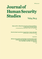 Journal of Human Security Studies, Vol.9, No.3 2020