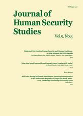 Journal of Human Security Studies, Vol.9, No.3 2020
