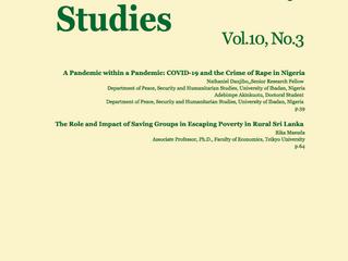 Journal of Human Security Studies. Vol.10, No.3, 2021.