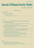 Journal of Human Security Studies Vol.5, No.2. Autumn 2016.