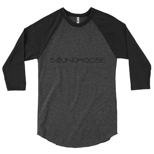 Men's SØUNDHOOSE 3/4 sleeve raglan shirt