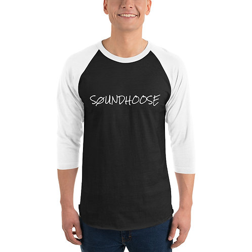 SØUNDHOOSE 3/4 sleeve raglan shirt