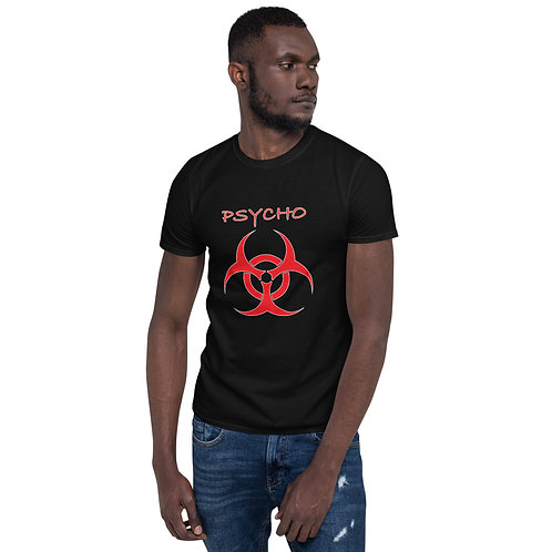 QUARANTINE PSYCHO Short-Sleeve Unisex T-Shirt