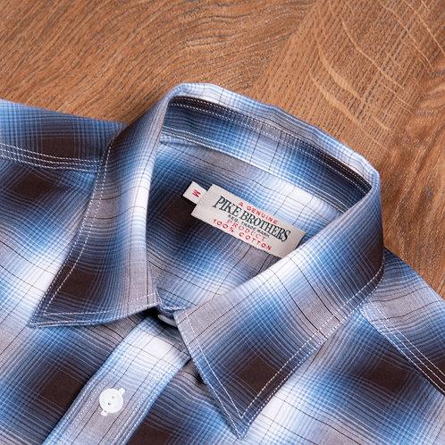 1937 Roamer Shirt Kangley blue