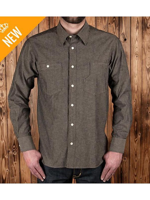 1937 Roamer Shirt charcoal grey