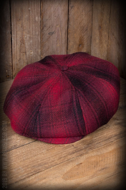 Slugger Cap - à carreaux rouge/noir