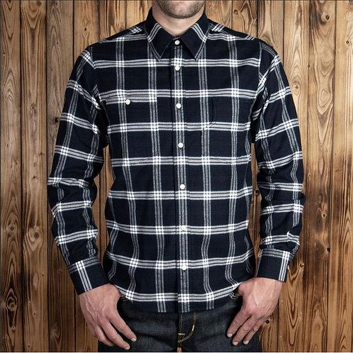 1937 Roamer shirt dugway blue ( flannel )