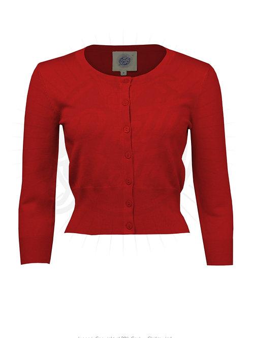 Pretty Cardigan - Red