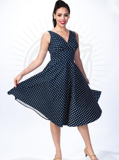 party dress polka
