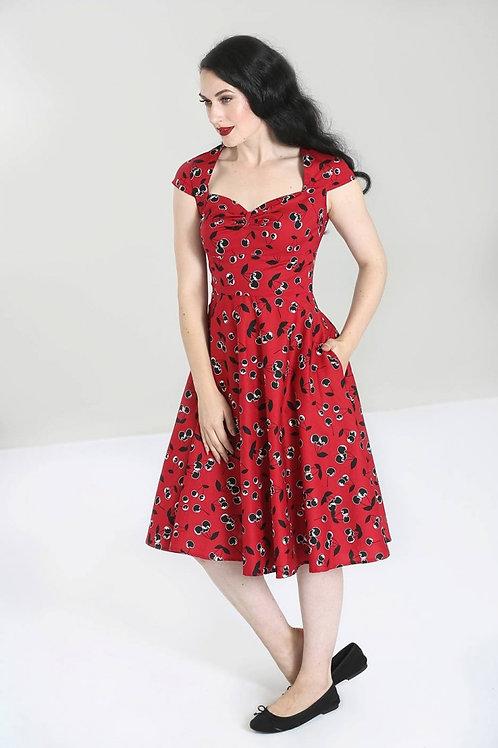 Alison 50's Dress rouge