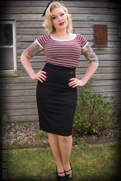 Perfect Pencil Skirt - noir