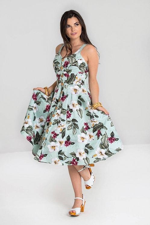 Tahiti 50's Dress Mint