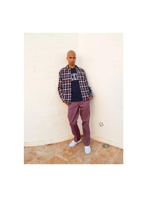 chemise chisana maroon