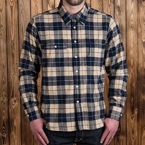 1937 Roamer Shirt blue flannel