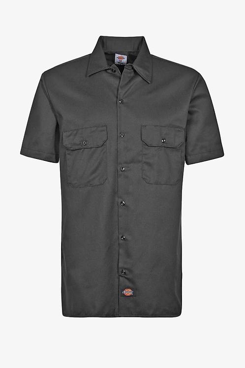 original short sleeve work black
