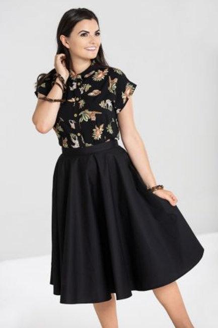 Paula 50'S Skirt black