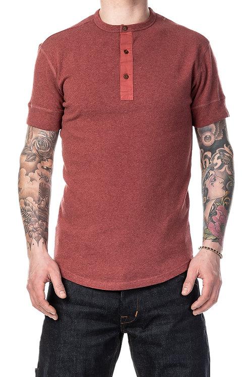 1927 henley short sleeve red 08