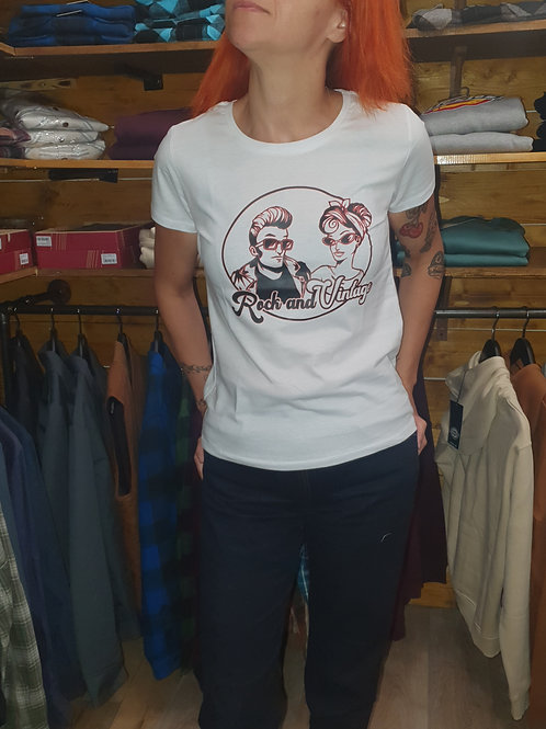 tee shirt rock and vintage