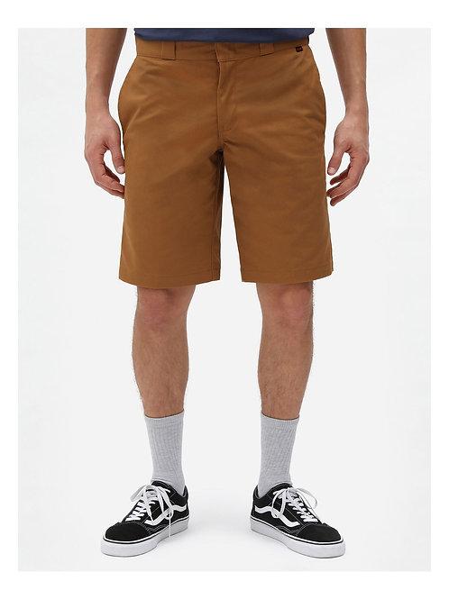 """Short de Travail Slim Droit Flex 11"""" pouces brown"""