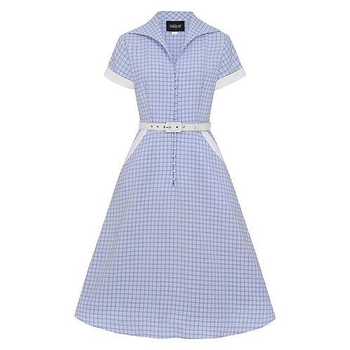Marjorie Contrast Swing Dress