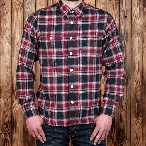 1937 roamer shirt alaska black ( flannel )